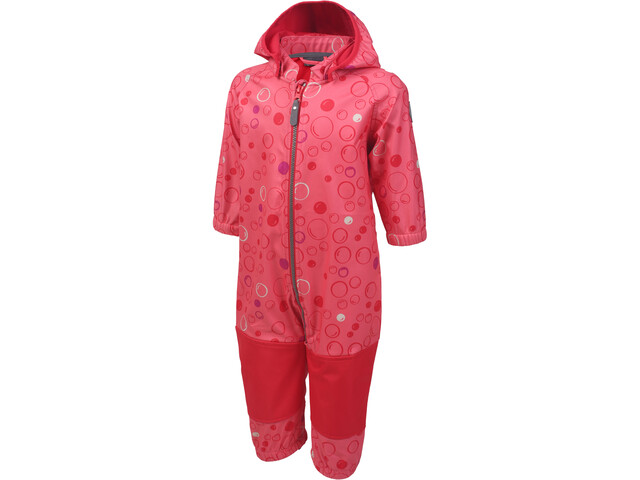 Color Kids Tajo Combinaison Softshell Fille, sugar coral